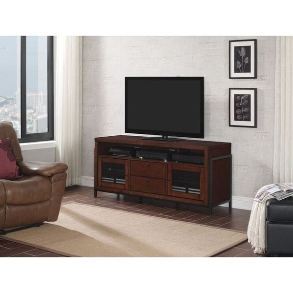 """Shop Bell'o Bfa63 94816 Coj Greenwich 63"""" Tv Stand For Tvs With Greenwich Wide Tv Stands (View 3 of 20)"""