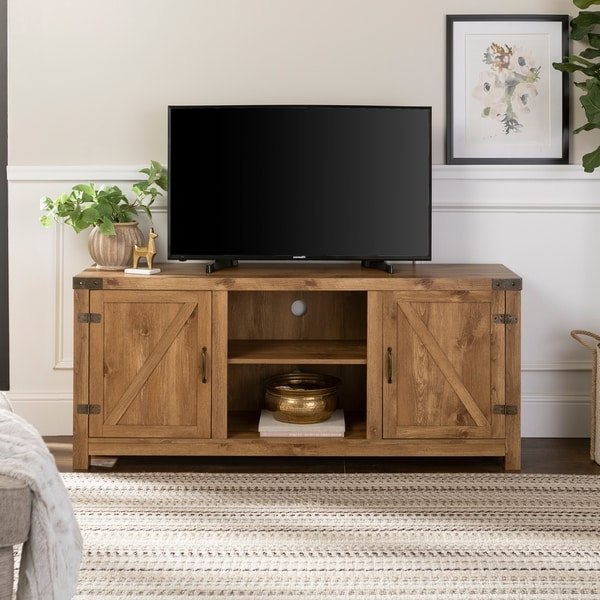 Shop Black/cherry 62 Inch Bookcase Tv Stand & Media Within Grooved Door Corner Tv Stands (View 14 of 20)