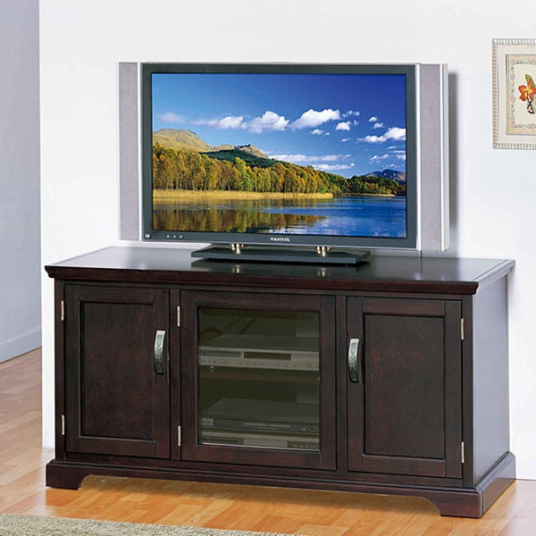 """Shop Chocolate Bronze 50 Inch Tv Stand & Media Console For Allegra Tv Stands For Tvs Up To 50"""" (View 11 of 20)"""