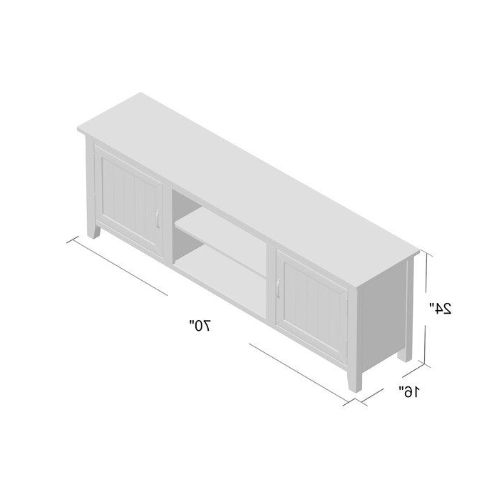 """Shreffler Tv Stand For Tvs Up To 78"""" 