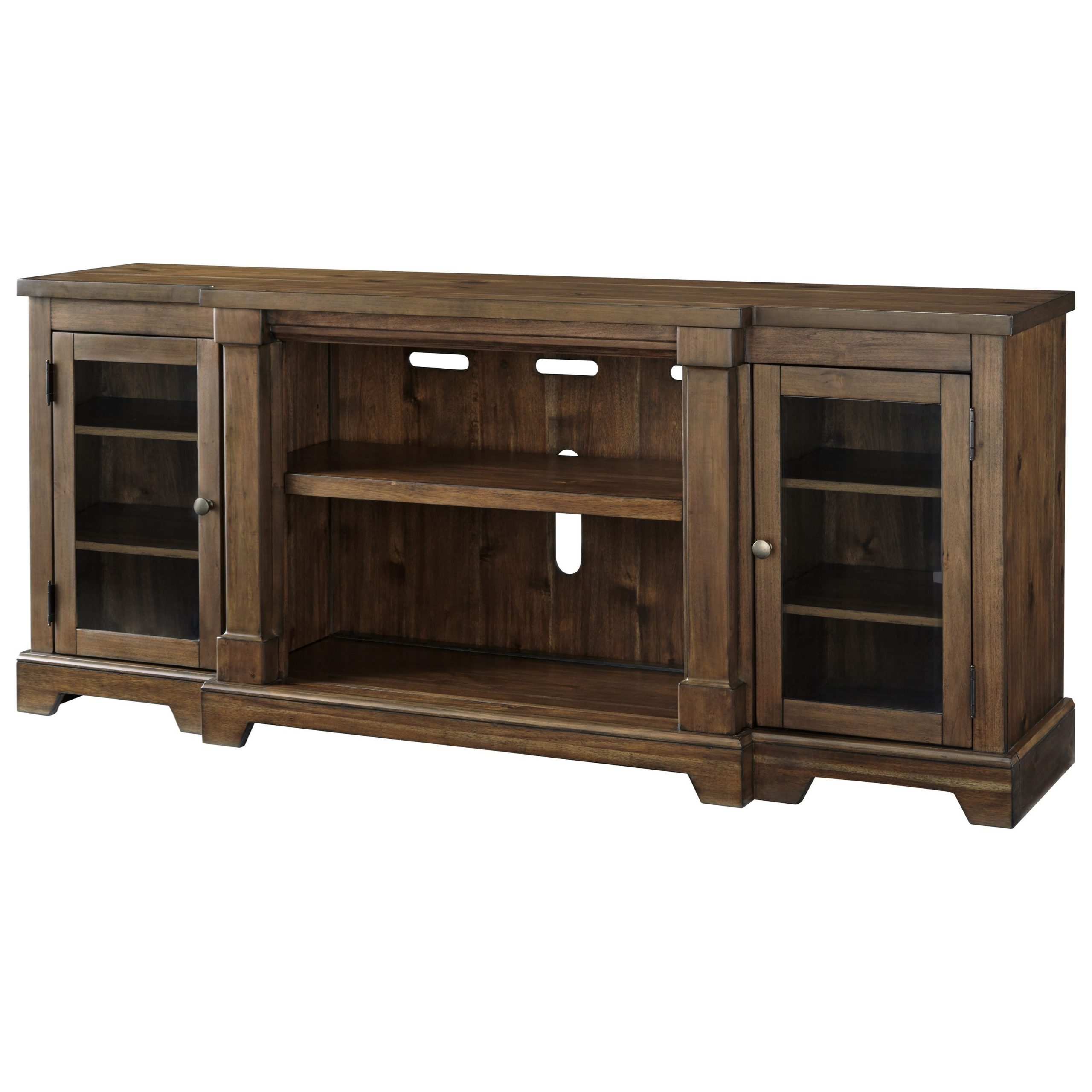 Signature Designashley Flynnter Breakfront Extra Large Intended For Orsen Wide Tv Stands (View 8 of 20)