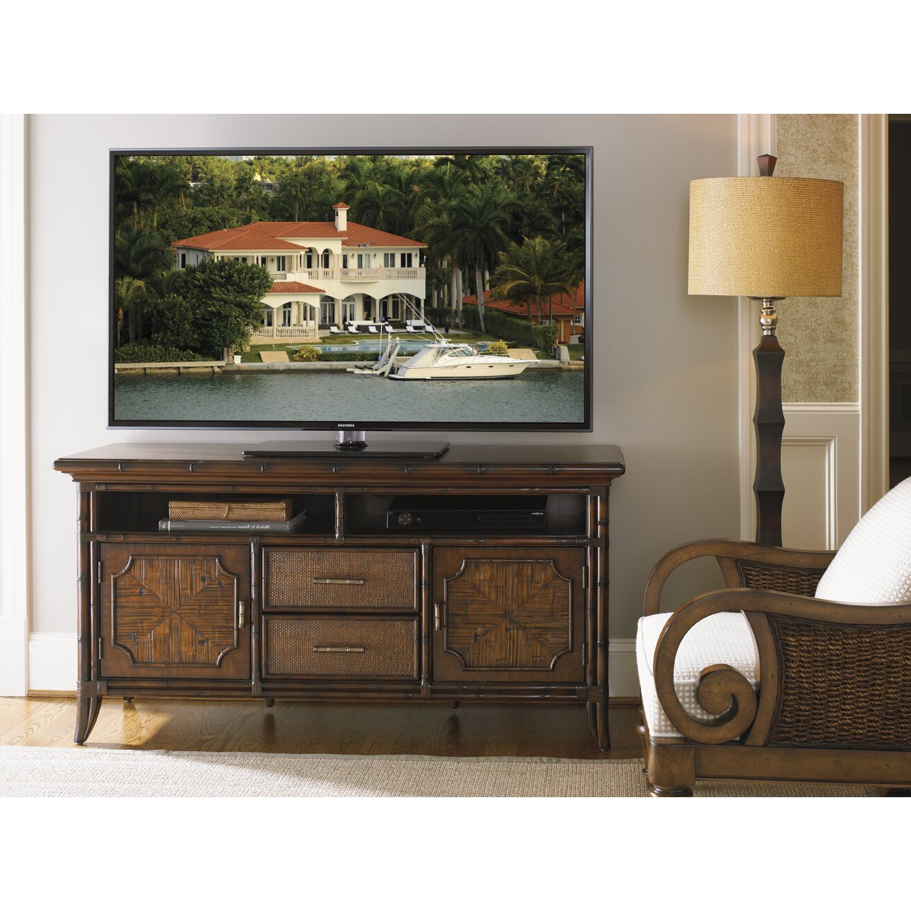 Sligh Bal Harbor Crystal Bay Tv Stand   Wayfair Regarding Harbor Wide Tv Stands (View 6 of 20)