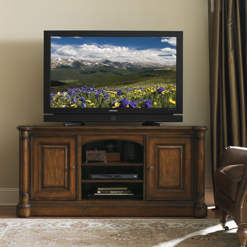 """Sligh Breckenridge Tv Stand For Tvs Up To 78 Inches   Perigold In Grandstaff Tv Stands For Tvs Up To 78"""" (View 17 of 20)"""