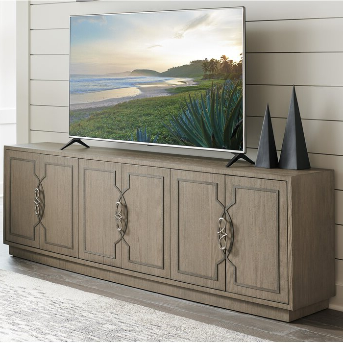 """Sligh Solid Wood Tv Stand For Tvs Up To 88"""" With Regard To Penelope Dove Grey Tv Stands (View 13 of 20)"""