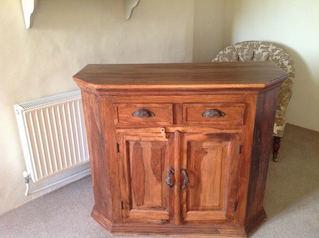 Small Sideboard/cupboard | In Sidmouth, Devon | Gumtree Pertaining To Sidmouth Oak Corner Tv Stands (View 12 of 20)