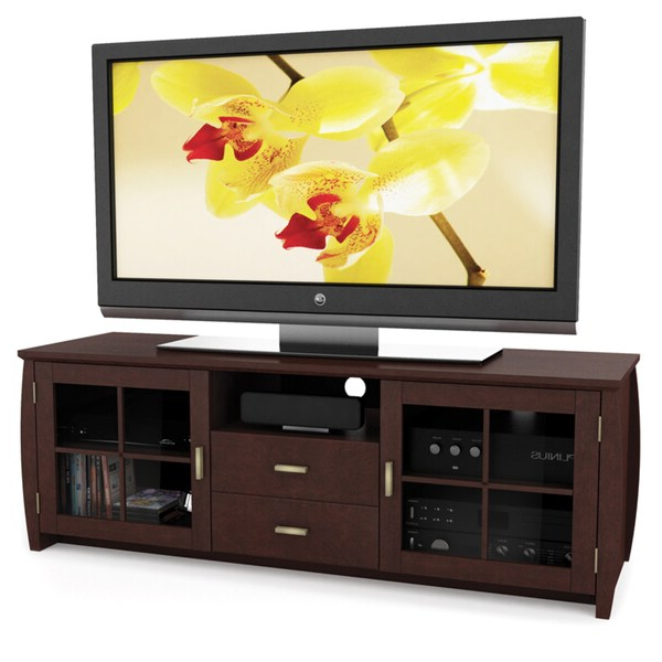 Sonax Washington Wood Espresso 59 Inch Entertainment Regarding Jackson Corner Tv Stands (View 10 of 20)