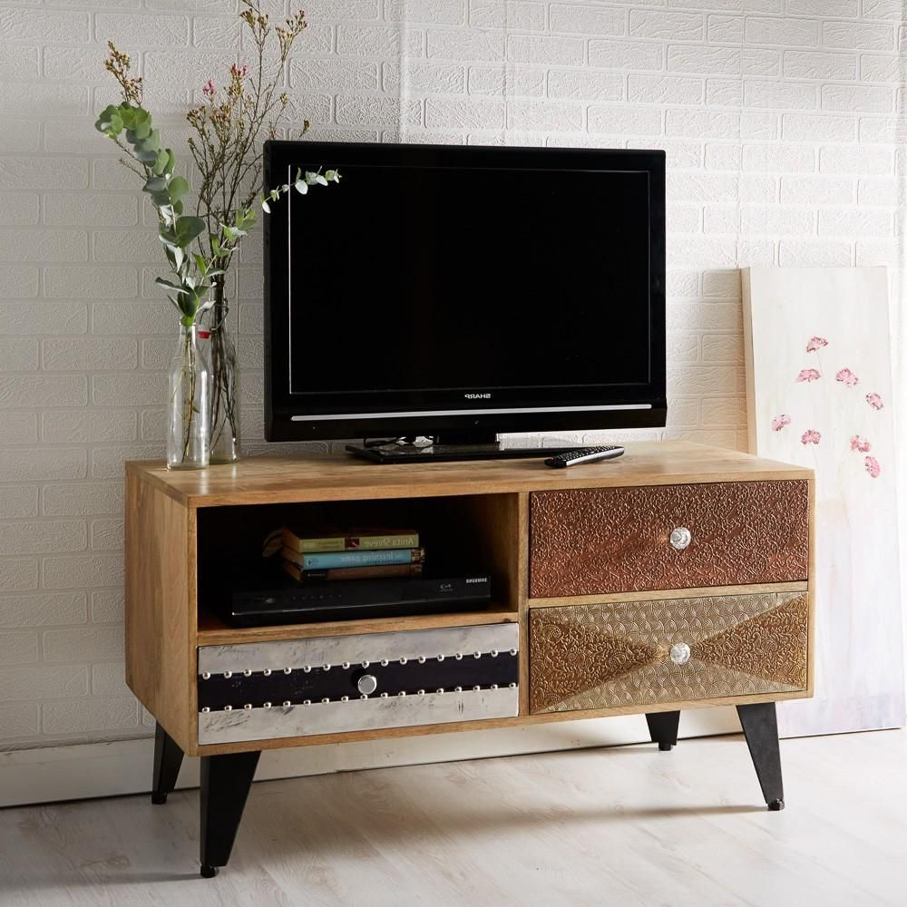 Sorio Small Media Unit   Furniture, Wooden Tv Stands, Tv For Owen Retro Tv Unit Stands (View 6 of 20)