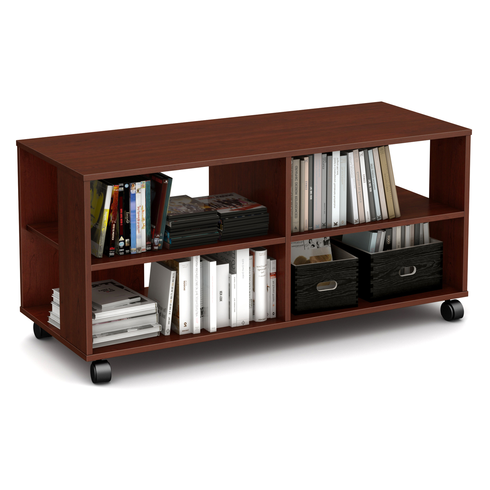 South Shore Jambory Tv Stand With Casters – Tv Stands At For Modern Black Tv Stands On Wheels (View 8 of 20)