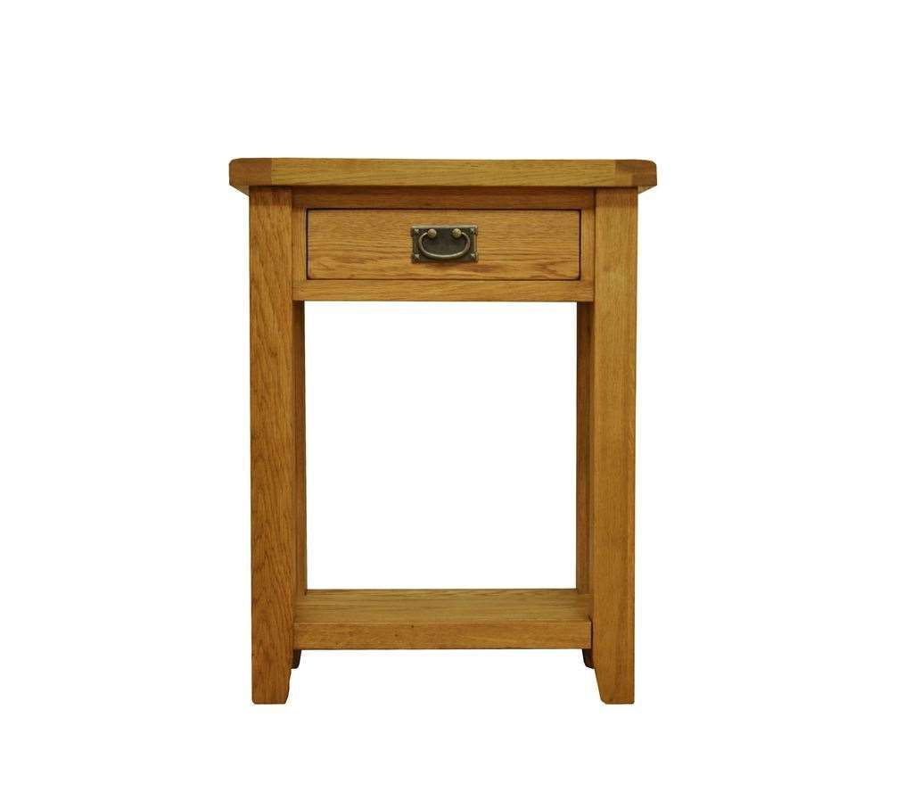 Stamford Telephone Table Stamford Telephone Table Http Within Sherbourne Oak Corner Tv Stands (View 8 of 20)