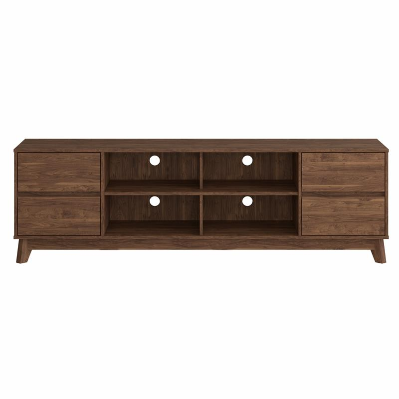 Stanely Coastal Furniture Tv Stands, Tv Stand With Hutch Inside Martin Svensson Home Elegant Tv Stands In Multiple Finishes (View 8 of 20)