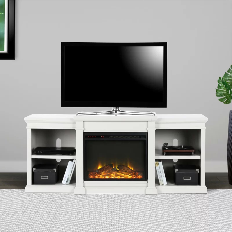"""Stowe Tv Stand For Tvs Up To 70"""" With Electric Fireplace In Chicago Tv Stands For Tvs Up To 70"""" With Fireplace Included (View 13 of 20)"""