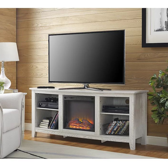 """Sunbury Tv Stand For Tvs Up To 65"""" With Fireplace Included Throughout Sunbury Tv Stands For Tvs Up To 65"""" (View 18 of 20)"""