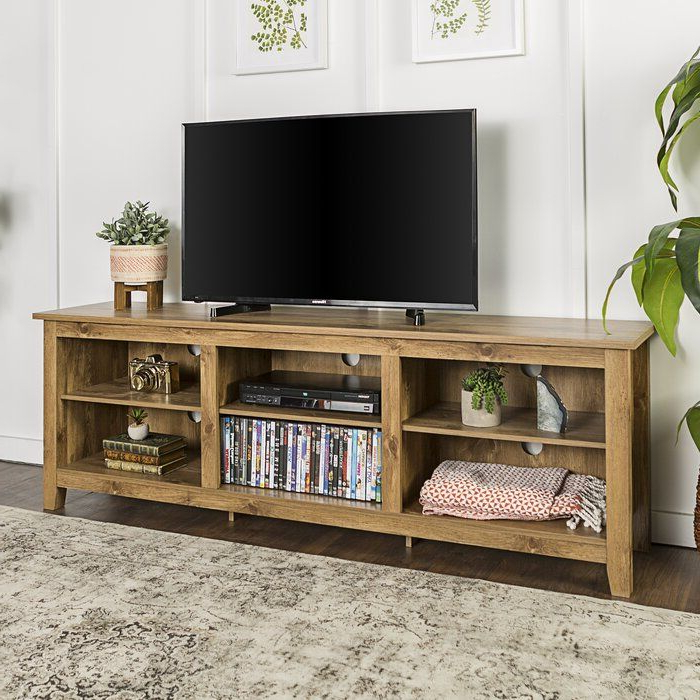 """Sunbury Tv Stand For Tvs Up To 78"""" With Fireplace Included Regarding Sunbury Tv Stands For Tvs Up To 65"""" (View 3 of 20)"""