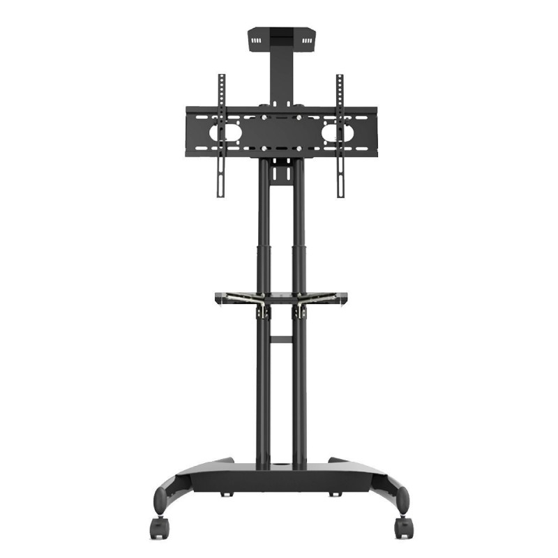 Suptek Rolling Tv Cart For 32 70 Inch Flat Screen, Mobile With Rolling Tv Cart Mobile Tv Stands With Lockable Wheels (View 8 of 20)