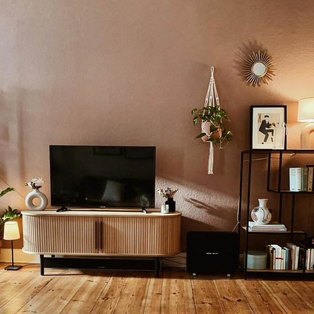 Tambo Media Unit, Oak   Made Throughout Lucy Cane Grey Wide Tv Stands (View 7 of 20)
