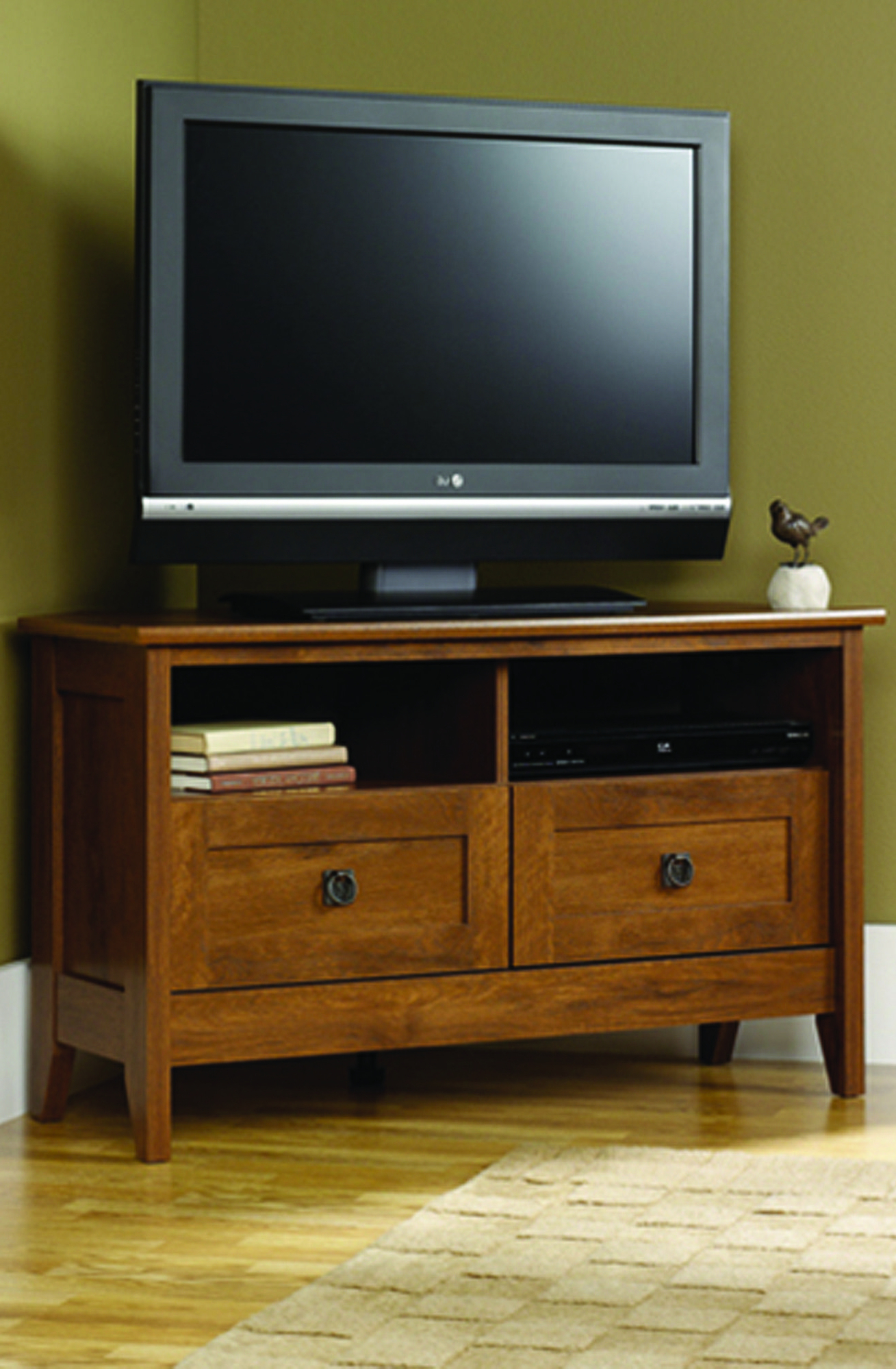 The August Hill Tv Stand Meets All Your Entertaining Needs Throughout Simple Open Storage Shelf Corner Tv Stands (View 1 of 20)