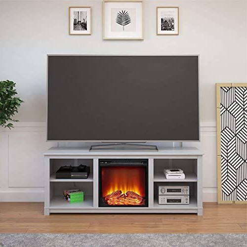 The Perfect Ameriwood Home Edgewood Tv Console With For Penelope Dove Grey Tv Stands (View 12 of 20)