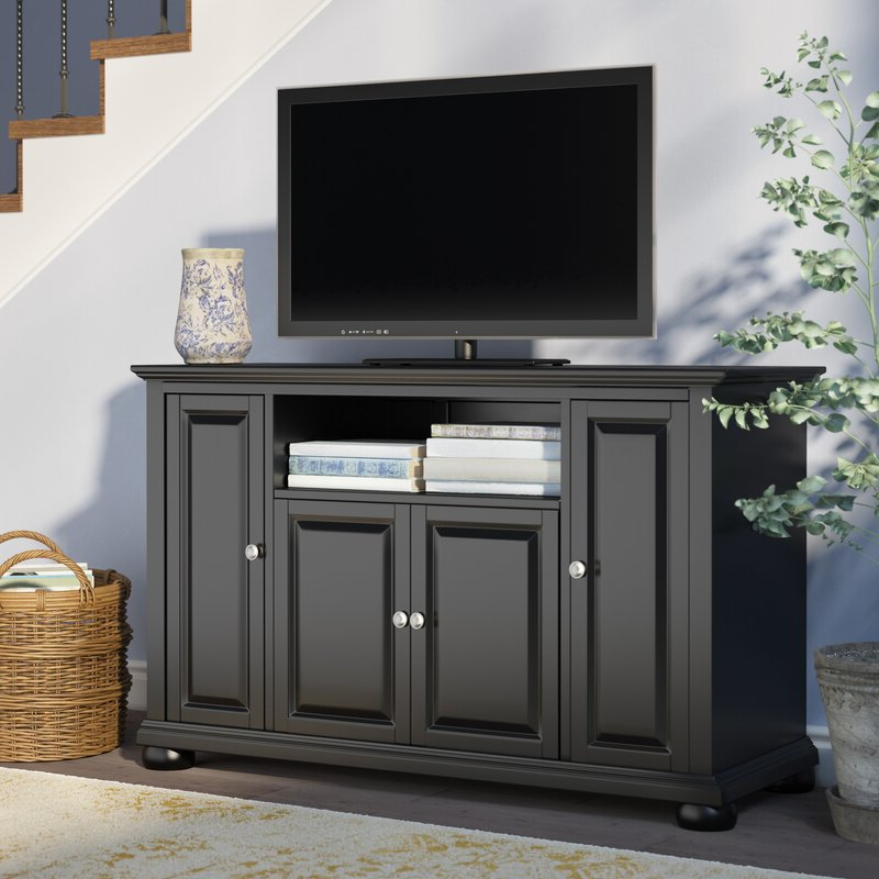 """Three Posts™ Hedon Tv Stand For Tvs Up To 50"""" & Reviews For Camden Corner Tv Stands For Tvs Up To 50"""" (View 11 of 20)"""