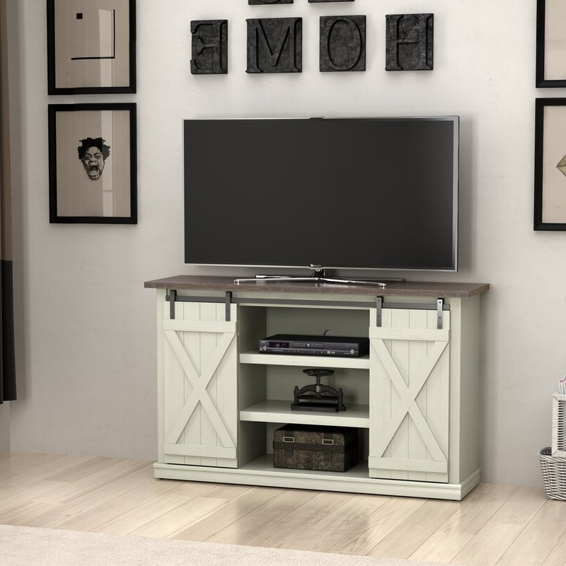 """Three Posts™ Lorraine Tv Stand For Tvs Up To 60"""" & Reviews Intended For Hal Tv Stands For Tvs Up To 60"""" (View 5 of 20)"""