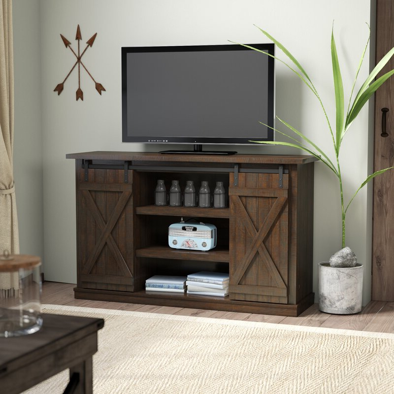 """Three Posts Lorraine Tv Stand For Tvs Up To 60"""" & Reviews Pertaining To Adayah Tv Stands For Tvs Up To 60"""" (View 7 of 20)"""