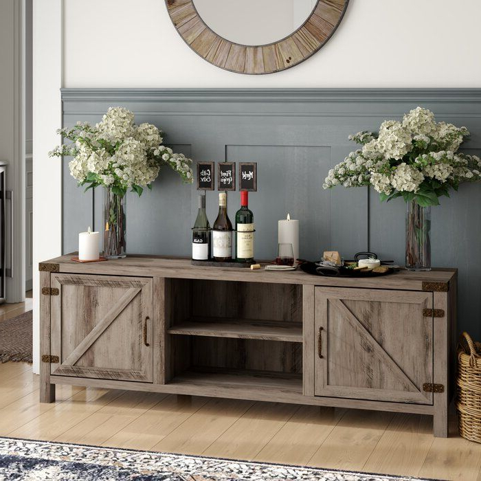 """Three Posts Orchard Hill Tv Stand For Tvs Up To 70 Inches Within Mainor Tv Stands For Tvs Up To 70"""" (View 18 of 20)"""