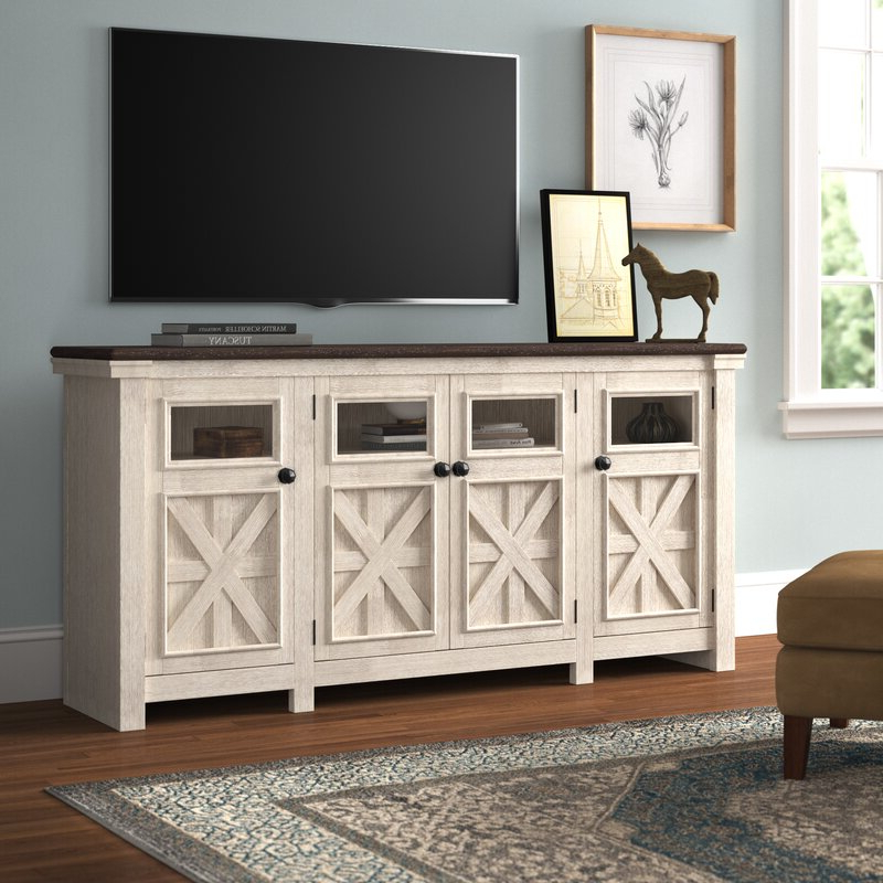 """Three Posts™ Ramsgate Tv Stand For Tvs Up To 85"""" & Reviews Throughout Bustillos Tv Stands For Tvs Up To 85"""" (View 3 of 20)"""