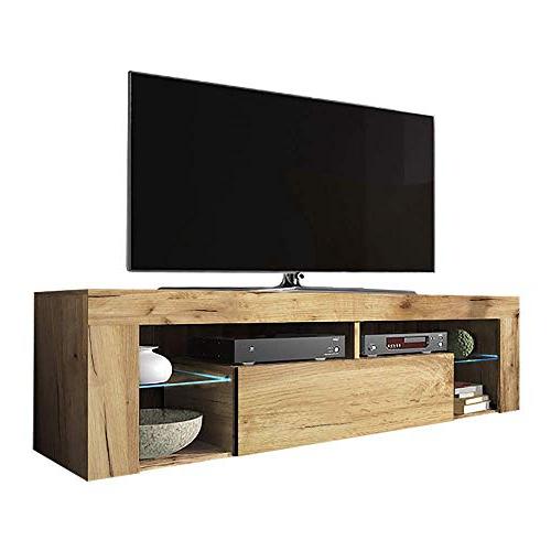 Top 9 Oak Tv Stand Uk – Tv Mounts, Stands & Turntables Inside Lancaster Large Tv Stands (View 17 of 20)