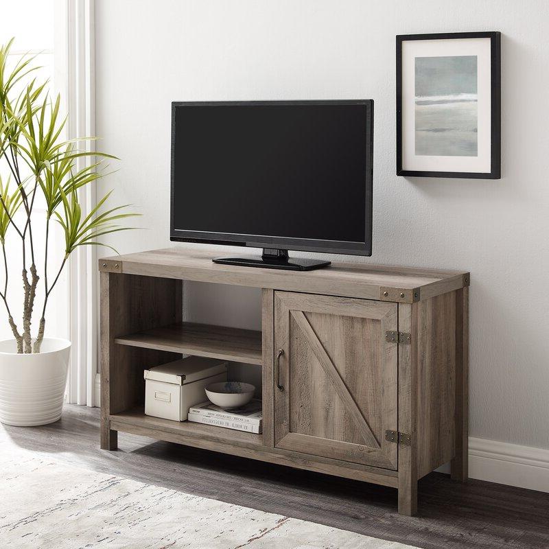 "Trent Austin Design® Adalberto Tv Stand For Tvs Up To 50 Pertaining To Adalberto Tv Stands For Tvs Up To 78"" (View 9 of 20)"