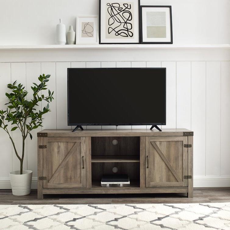 "Trent Austin Design® Adalberto Tv Stand For Tvs Up To 65 Throughout Adalberto Tv Stands For Tvs Up To 78"" (View 2 of 20)"