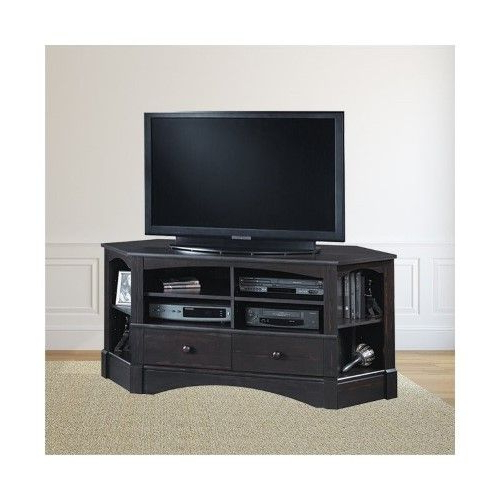 Trent Home Sea Horizon 61' Corner Tv Stand In Antique Intended For Naples Corner Tv Stands (View 15 of 20)