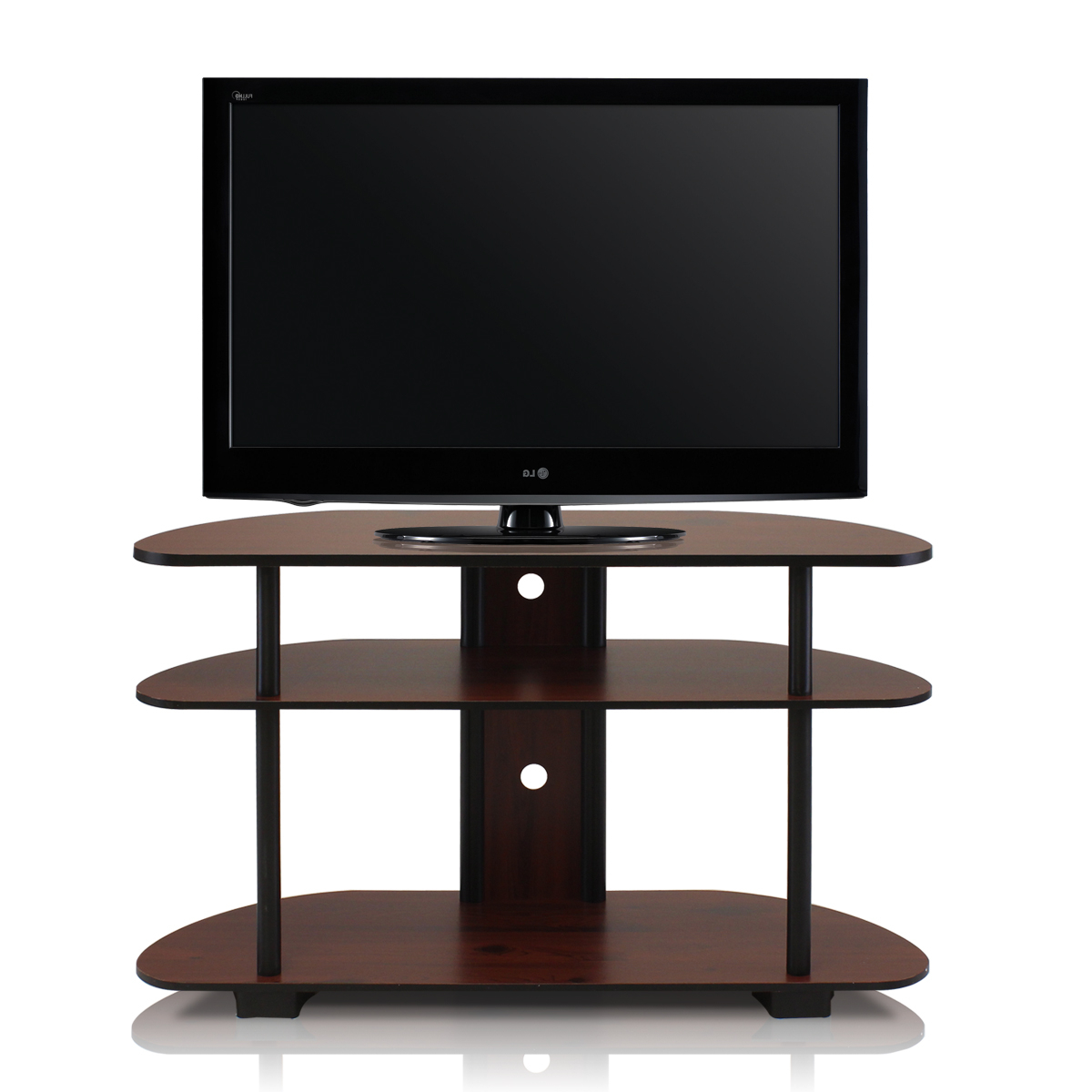 """Turn N Tube 3 Tier Tv Stand For Tvs Up To 43"""", Multiple Intended For Maubara Tv Stands For Tvs Up To 43"""" (View 12 of 20)"""