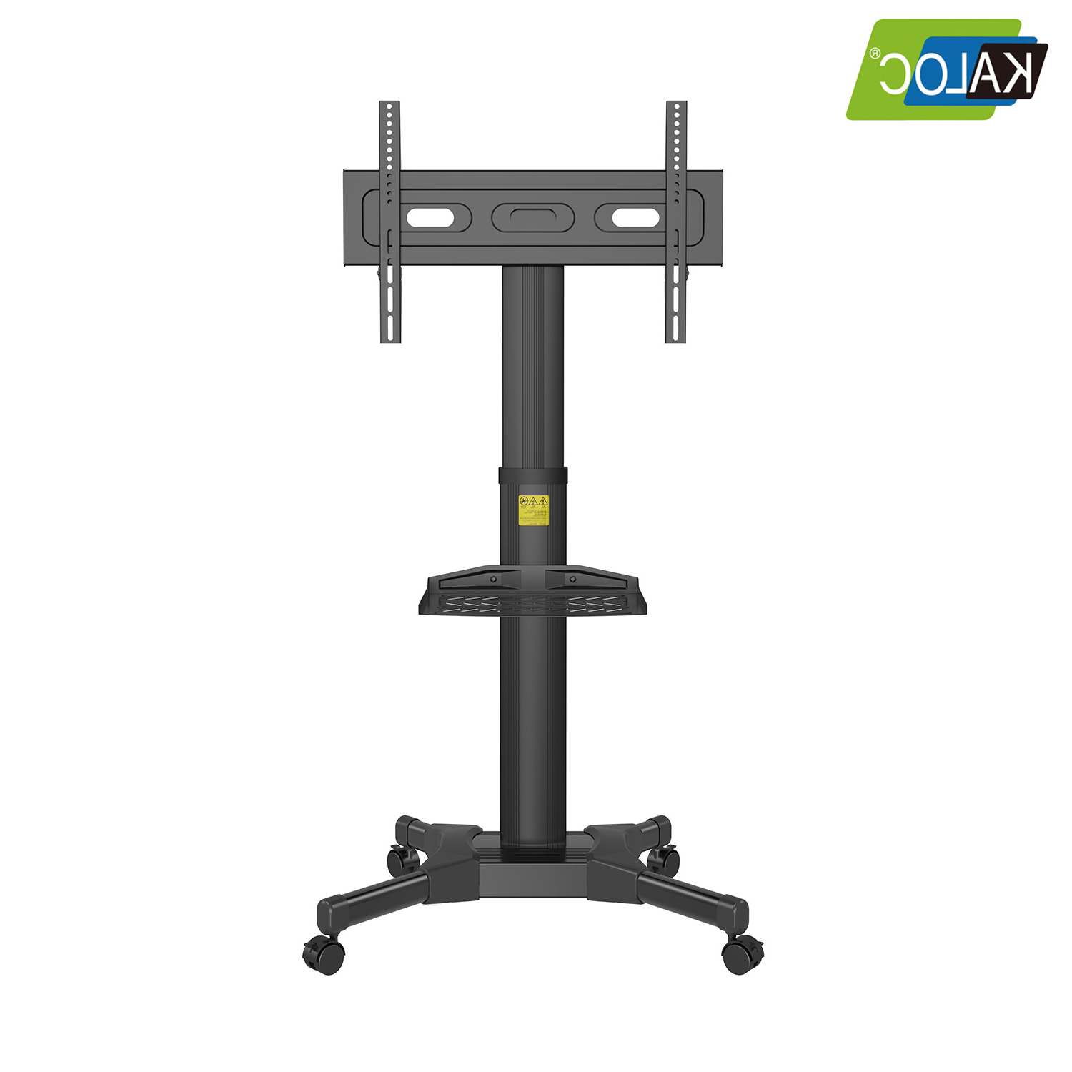 Tv Cart Stand With Wheels Tv Mobile Cart 50 To 80 Inch Up For Mount Factory Rolling Tv Stands (View 1 of 20)