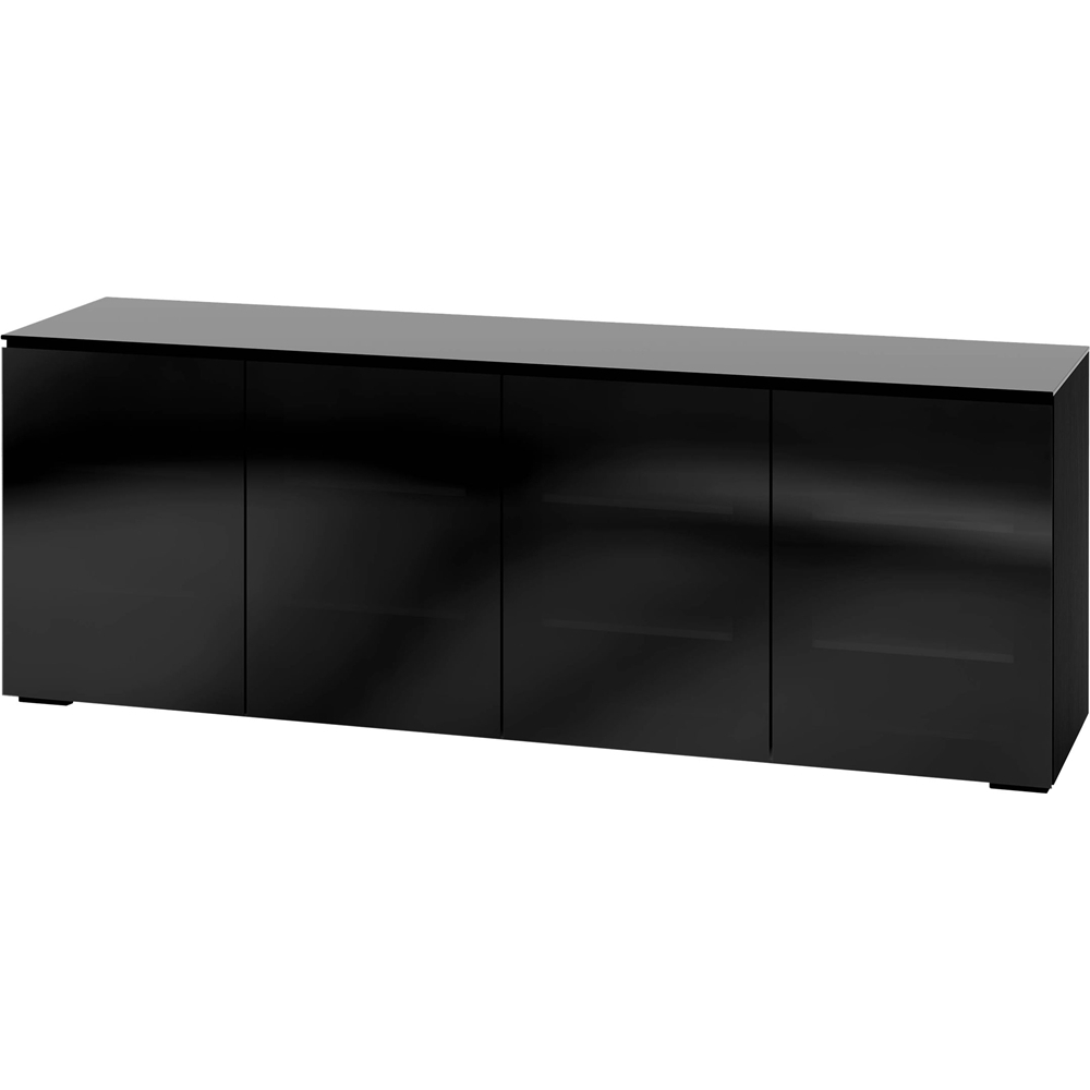 Tv Sideboard Black – The Reading Chair Inside Jackson Corner Tv Stands (View 15 of 20)