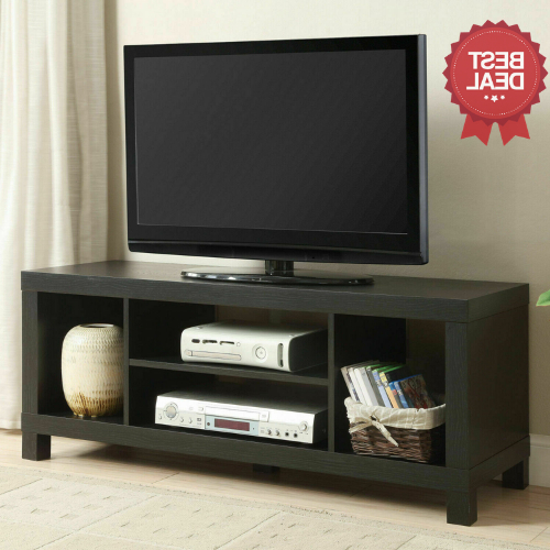 Tv Stand Brown College Dorm Furniture Stereo Media With Mainstays 4 Cube Tv Stands In Multiple Finishes (View 5 of 20)