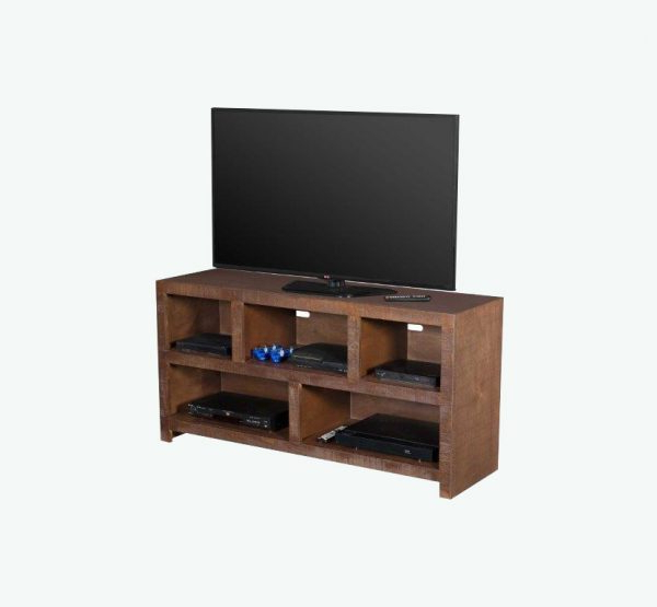 """Tv Stand Canyon 54"""" Dark Brown – Meximuebles Furniture Factory Intended For Canyon Oak Tv Stands (View 18 of 20)"""