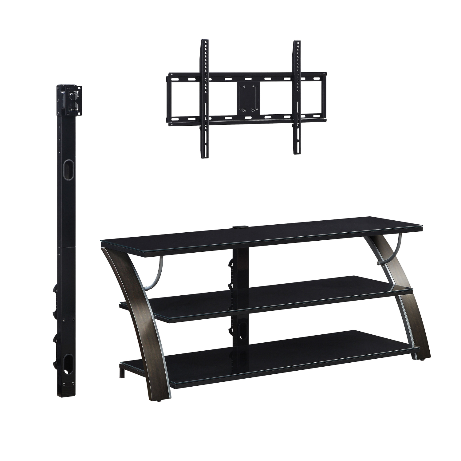 """Tv Stand Flat Panel For Tvs Up To 65"""" Screen Entertainment Inside Whalen Payton 3 In 1 Flat Panel Tv Stands With Multiple Finishes (View 5 of 20)"""