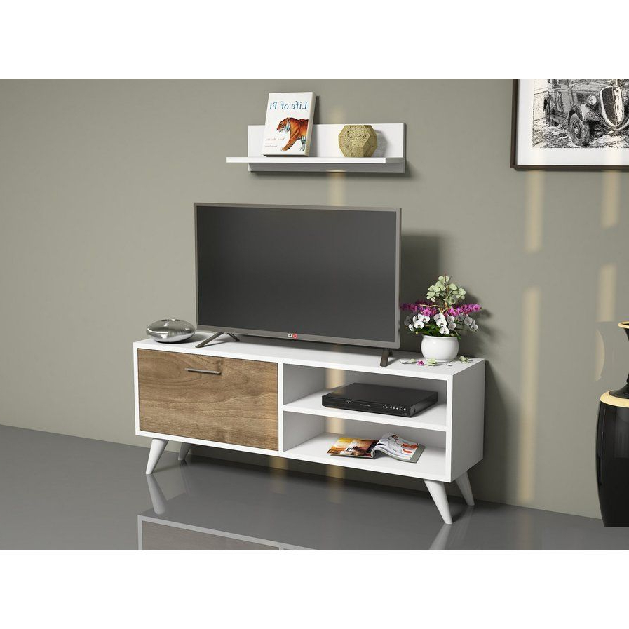 """Tv Stand For Tvs Up To 43""""   Tv Stand With Storage, Tv Intended For Maubara Tv Stands For Tvs Up To 43"""" (View 2 of 20)"""