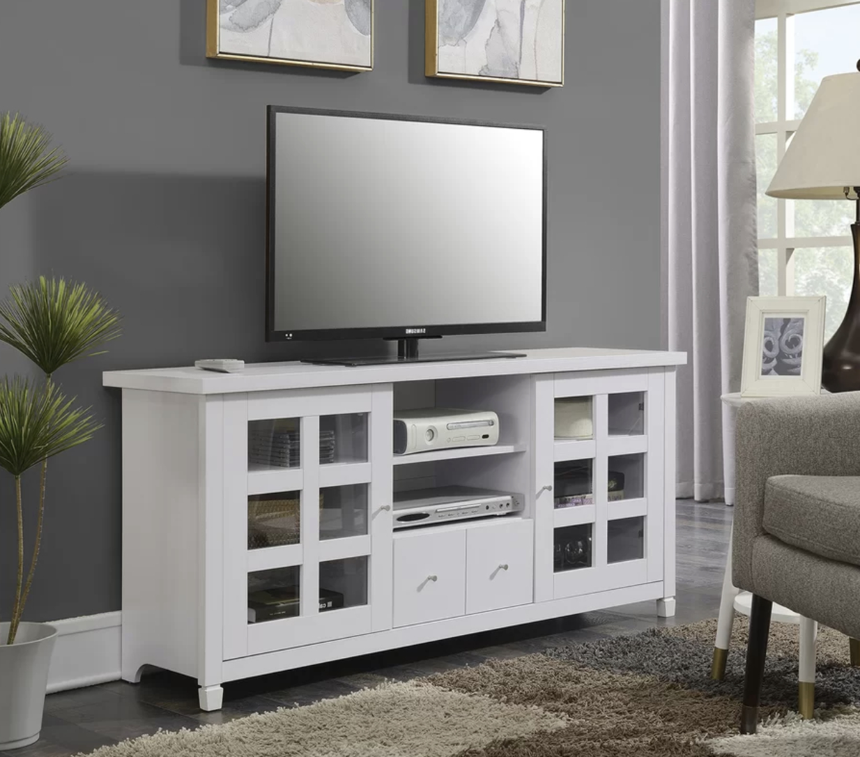 """Tv Stand For Tvs Up To 65"""" 