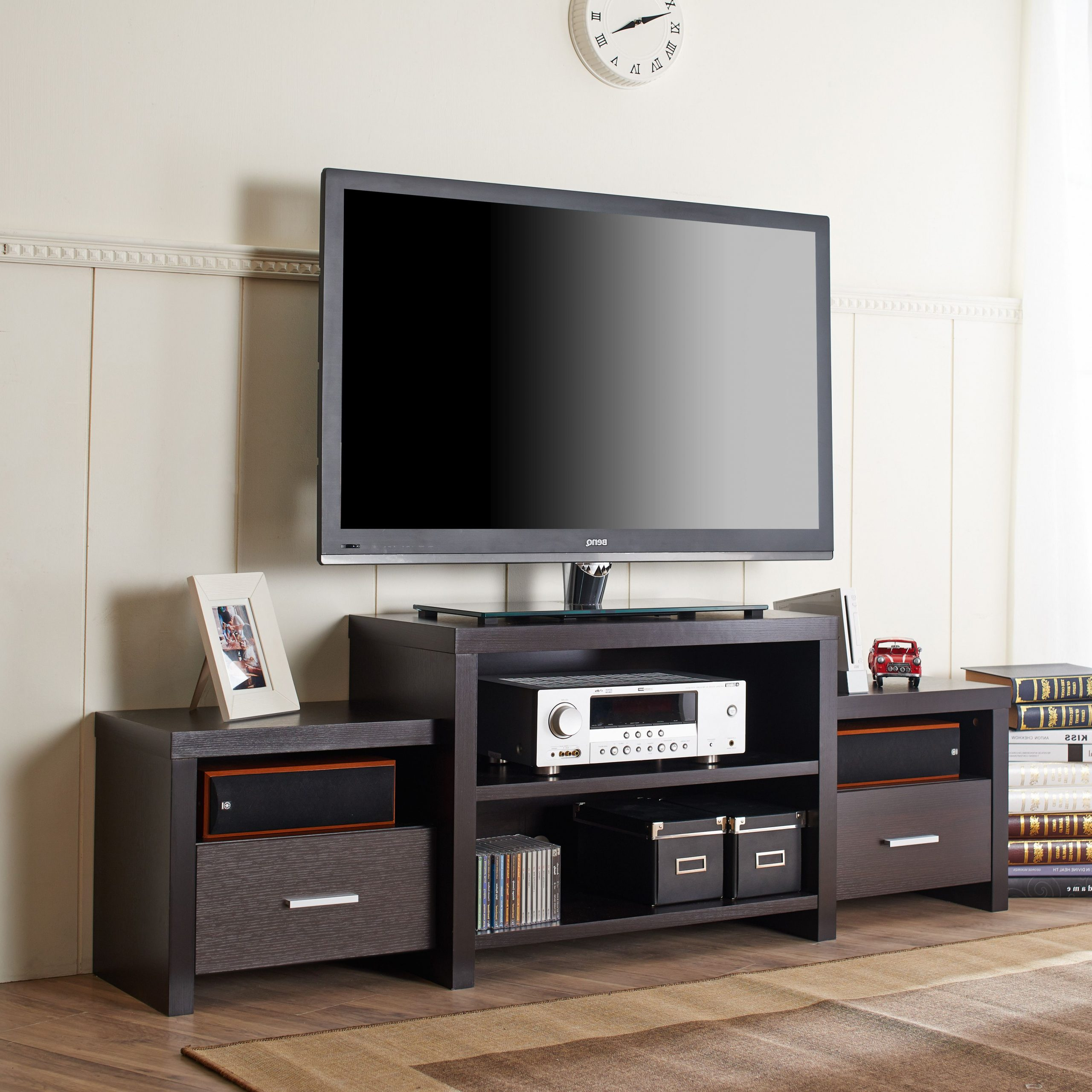 """Tv Stand For Tvs Up To 78""""   Furniture Of America With Tenley Tv Stands For Tvs Up To 78"""" (View 9 of 20)"""