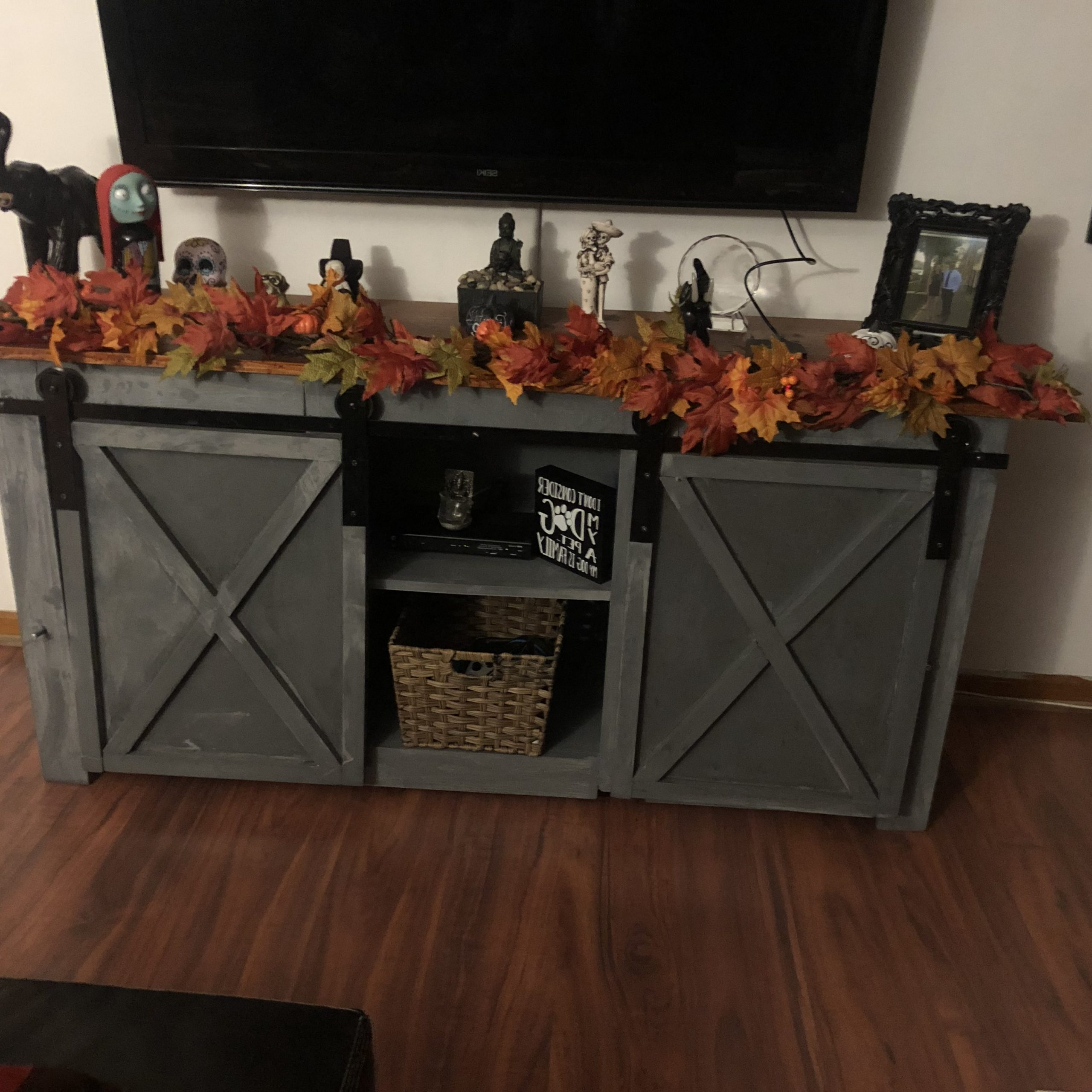 Tv Stand – Ryobi Nation Projects Within Farmhouse Woven Paths Glass Door Tv Stands (View 8 of 20)