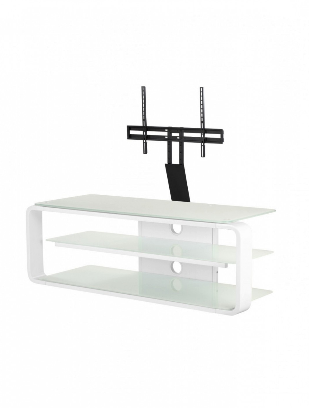 Tv Stand With Mount Assembly Instructions Pertaining To Easyfashion Modern Mobile Tv Stands Rolling Tv Cart For Flat Panel Tvs (View 12 of 20)