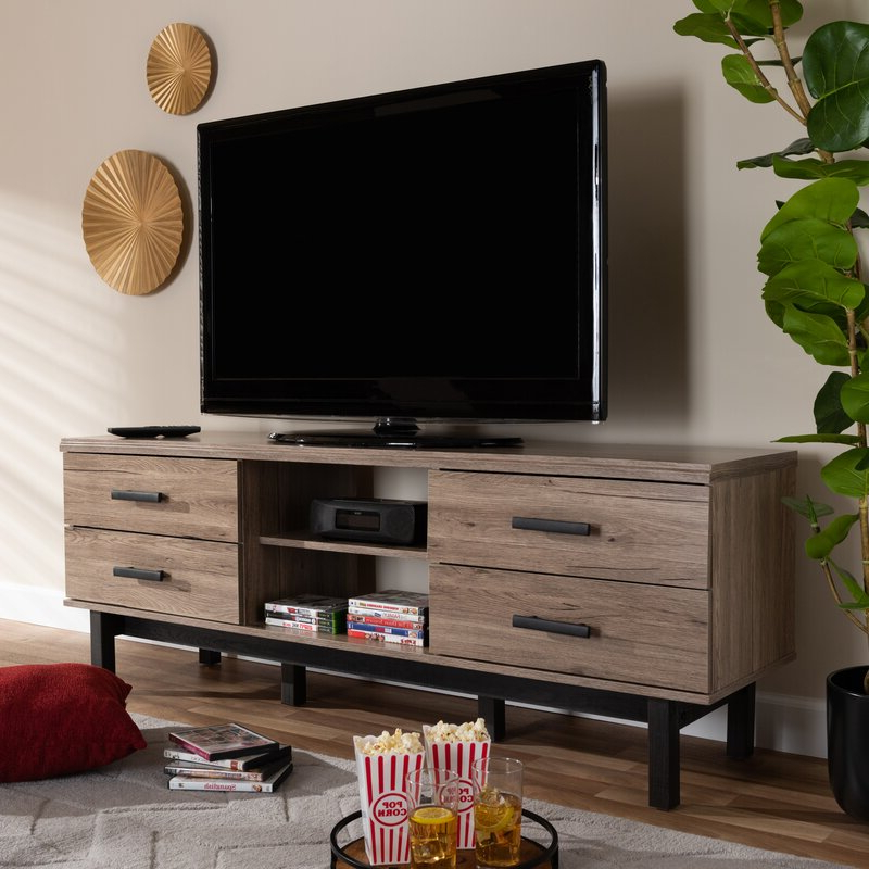 """Union Rustic Whittaker Tv Stand For Tvs Up To 75 Pertaining To Chrissy Tv Stands For Tvs Up To 75"""" (View 12 of 20)"""