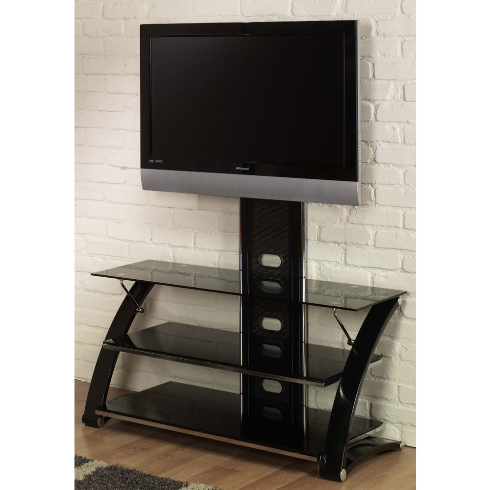 Victoria Modern Tv Stand – Integrated Mount In Tv Stands For Modern Floor Tv Stands With Swivel Metal Mount (View 17 of 20)
