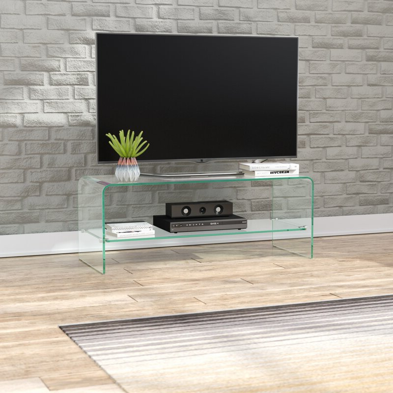 """Wade Logan® Selsey Tv Stand For Tvs Up To 43"""" & Reviews Inside Orrville Tv Stands For Tvs Up To 43"""" (View 5 of 20)"""