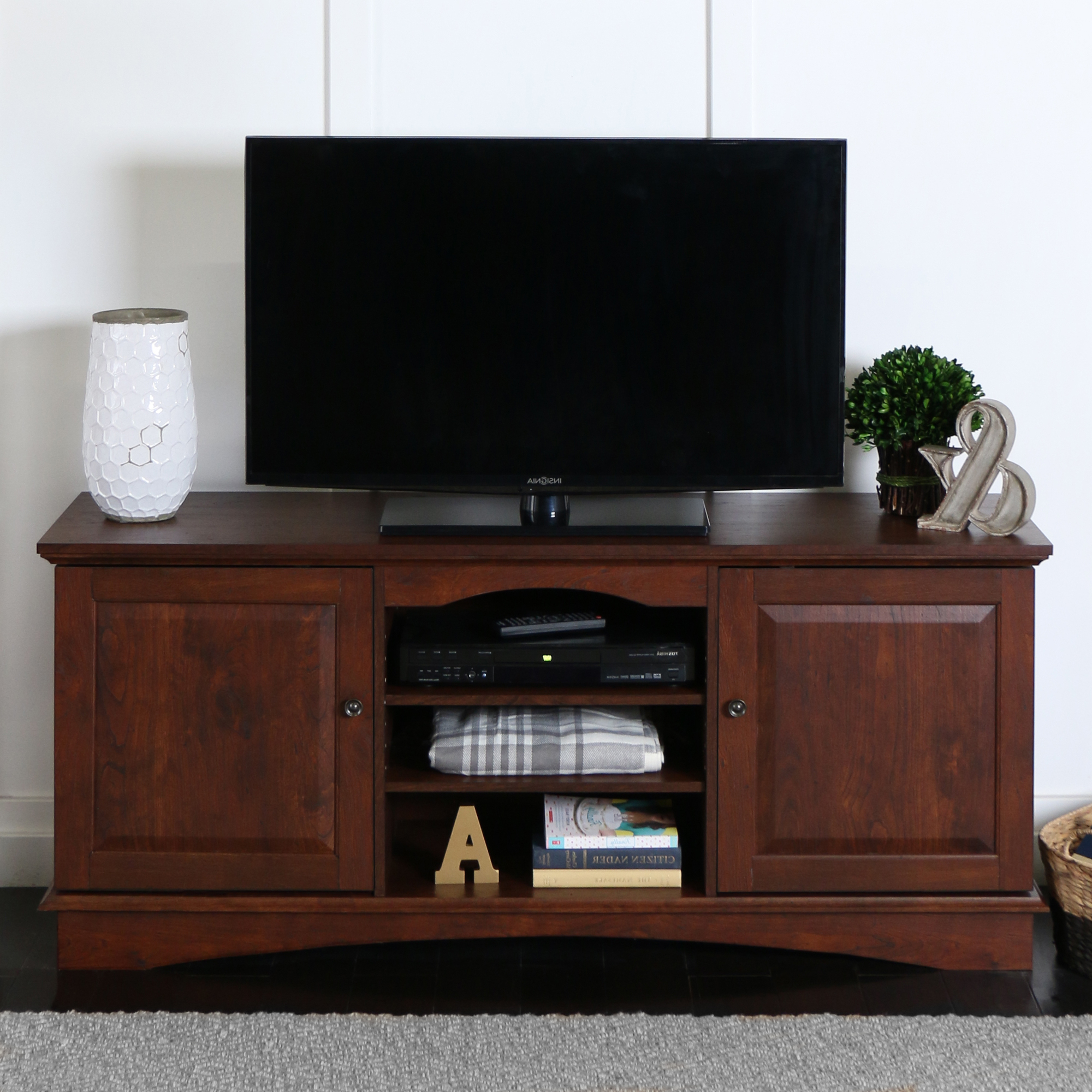 """Walker Edison Wood Tv Stand For Tvs Up To 60 With Regard To Ahana Tv Stands For Tvs Up To 60"""" (View 1 of 20)"""