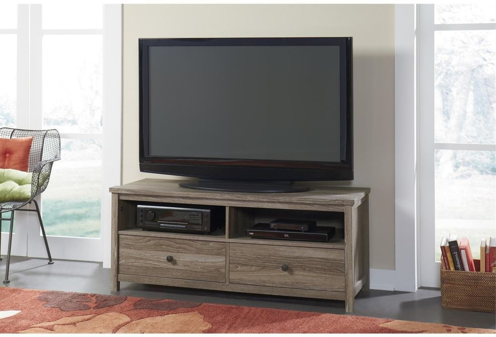 Weathered Pecan 54 Inch Tv Stand   Cool Tv Stands, Tv Within Lancaster Corner Tv Stands (View 12 of 20)