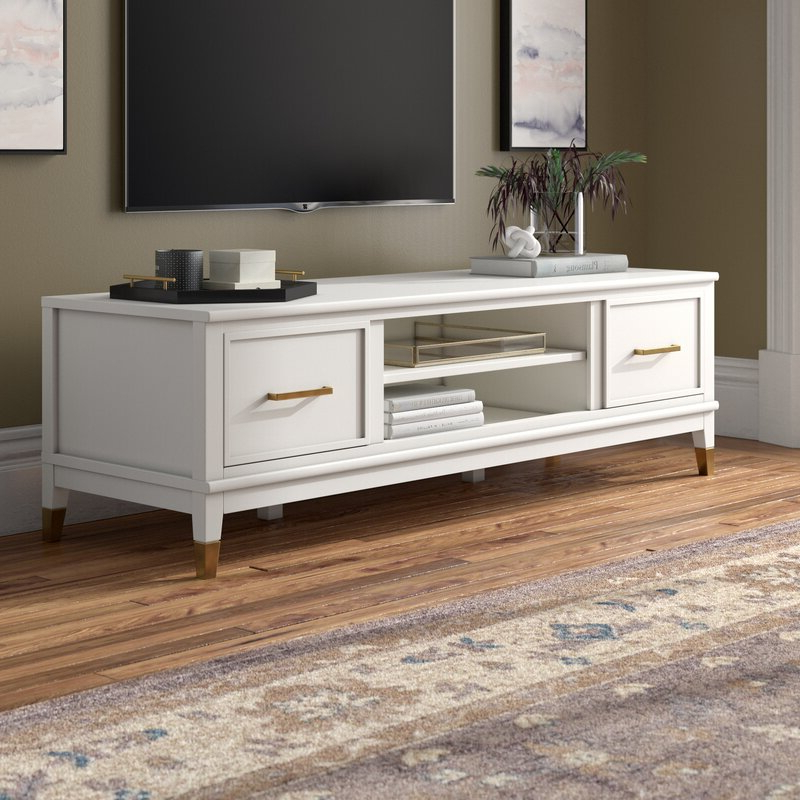 """Westerleigh Tv Stand For Tvs Up To 65"""" & Reviews   Joss & Main With Jowers Tv Stands For Tvs Up To 65"""" (View 7 of 20)"""