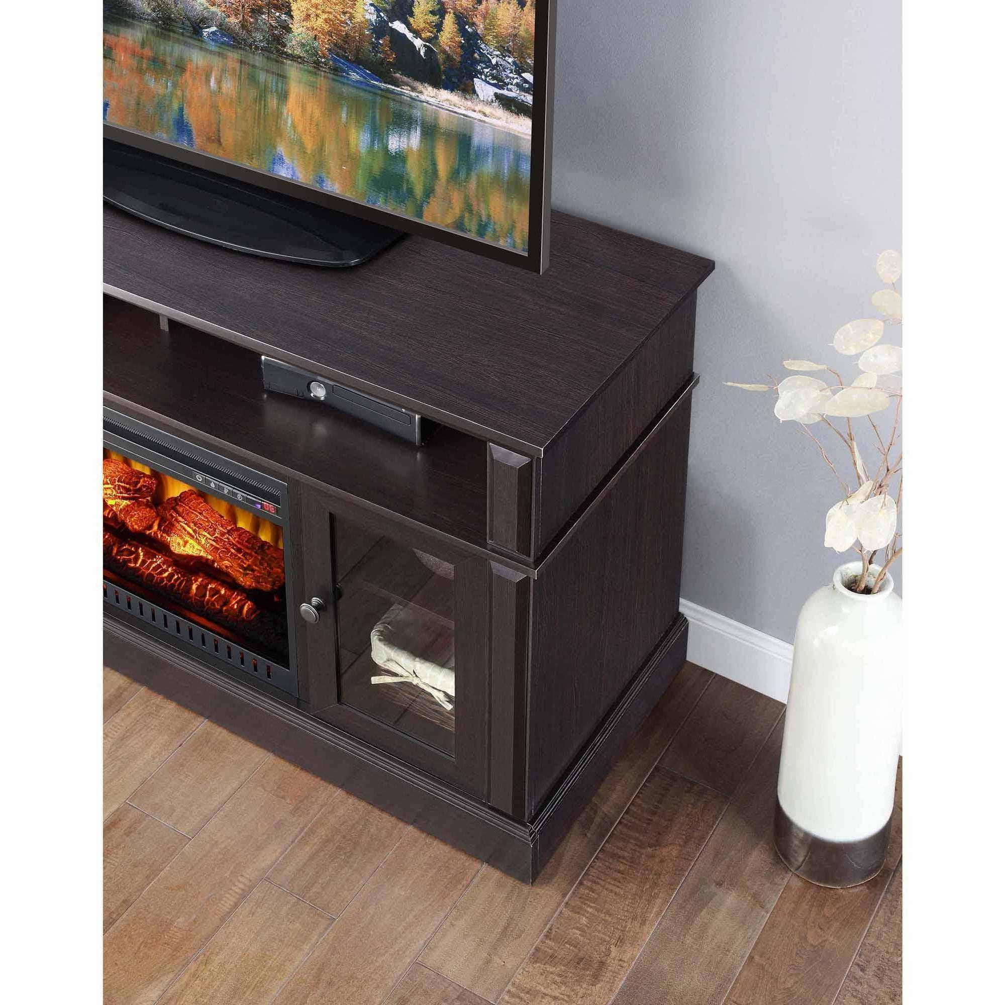 Whalen Barston Media Fireplace For Tv's Up To 70, Multiple In Whalen Payton 3 In 1 Flat Panel Tv Stands With Multiple Finishes (View 12 of 20)