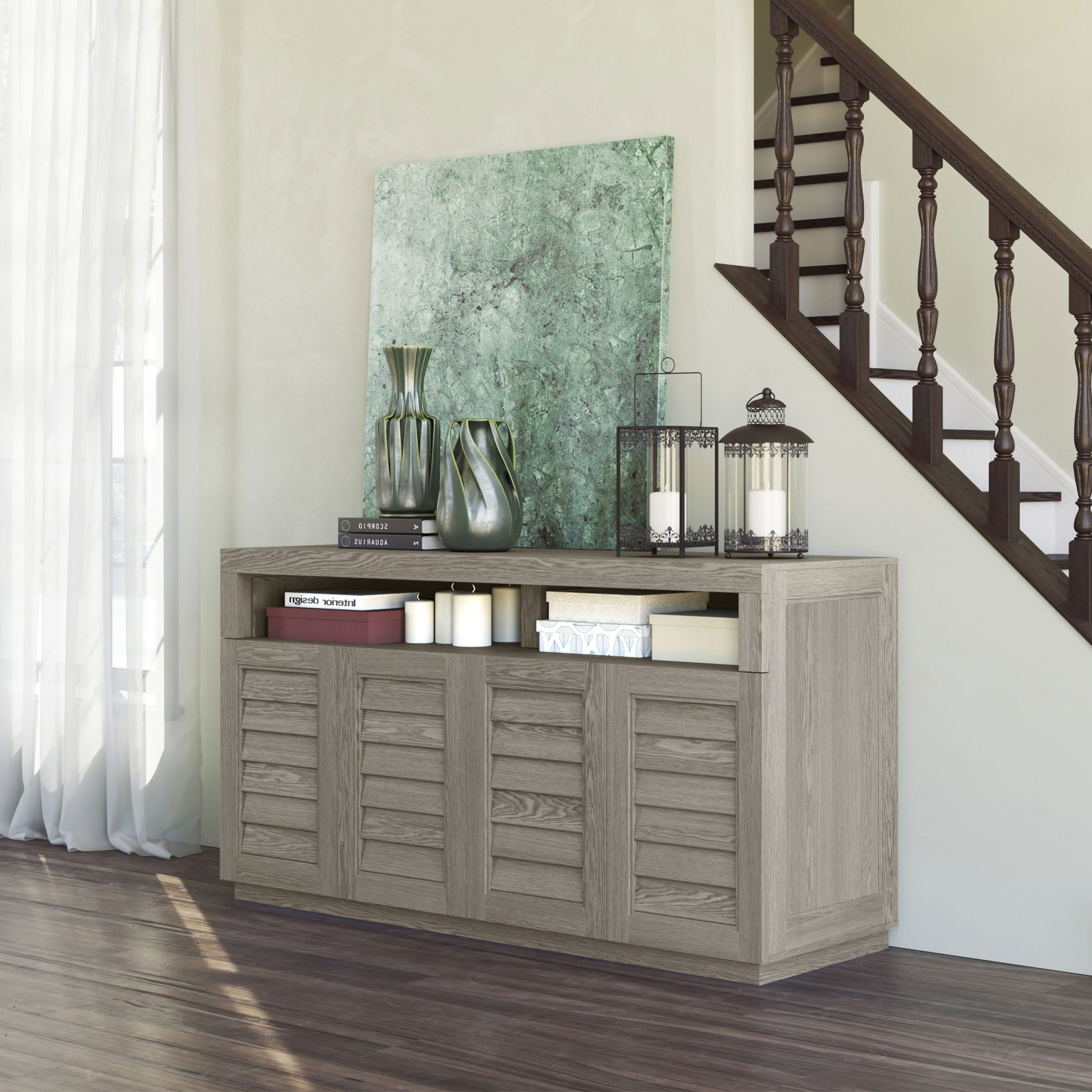 Whalen For Better Homes & Gardens Herringbone Tv Stands With Multiple Finishes (View 4 of 20)