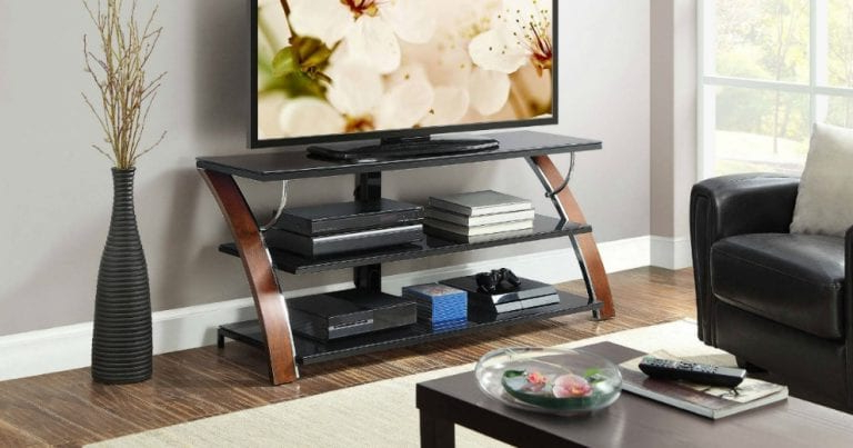 Whalen Furniture Flat Panel Tv Stand $ (View 7 of 20)